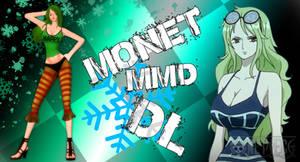MMD One Piece Monet DL