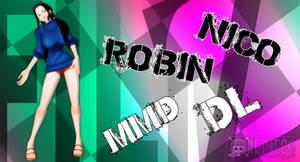 MMD Nico Robin Film Z DL