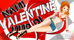 MMD One Piece Nami Valentine DL