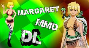 MMD One Piece Margaret v2 DL