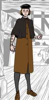 Miss Tragic_Original character