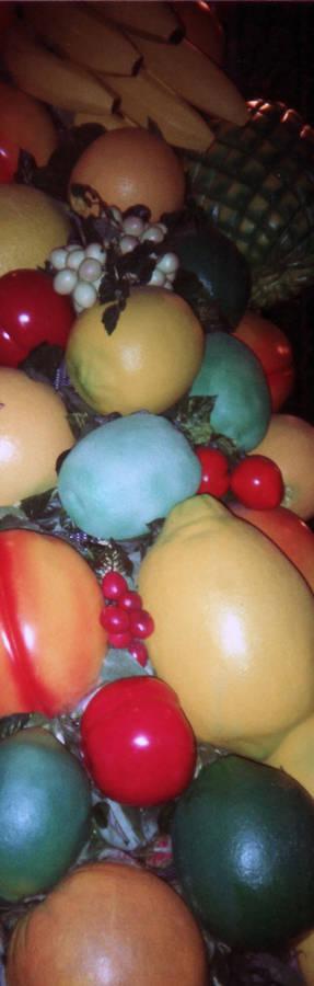 Fruit Column_Rainforest Cafe