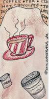 Coffee House Bookmark
