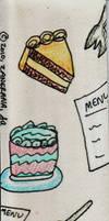 Bon Appetit Bookmark