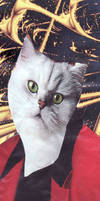 Cat-tain of Industry Bookmark