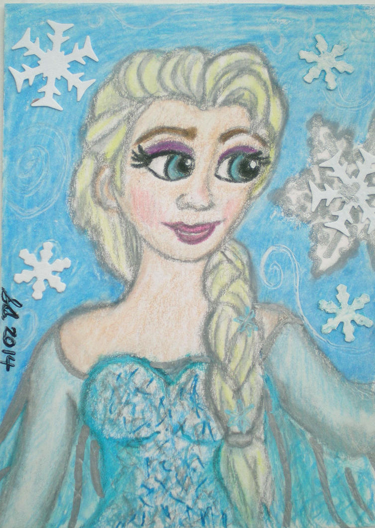 Frozen-Elsa--Winter-Spirit by Dreamerzina