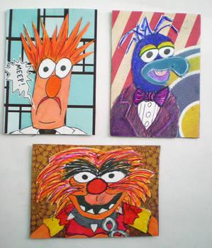 Muppet-fan art Artist Trading Cards