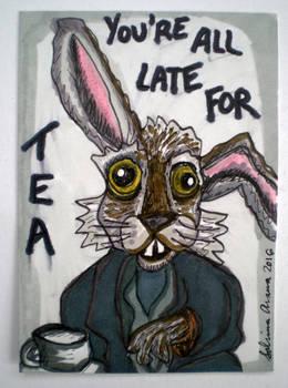 Alice in Wonderland March Hare-TBurton ATC 7.9.16