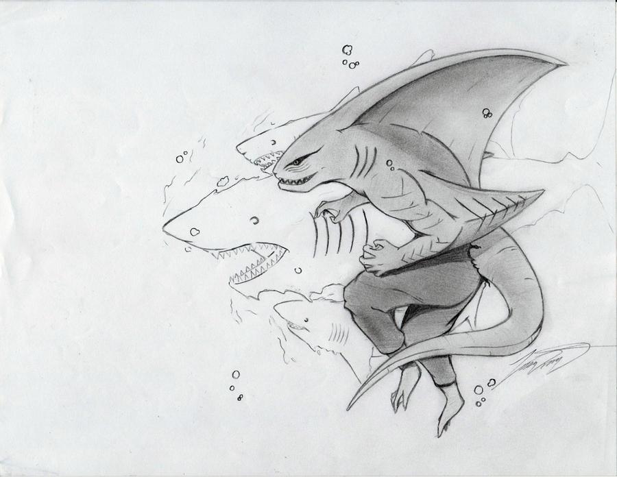 Kisame Shark Form by OhReary on deviantART