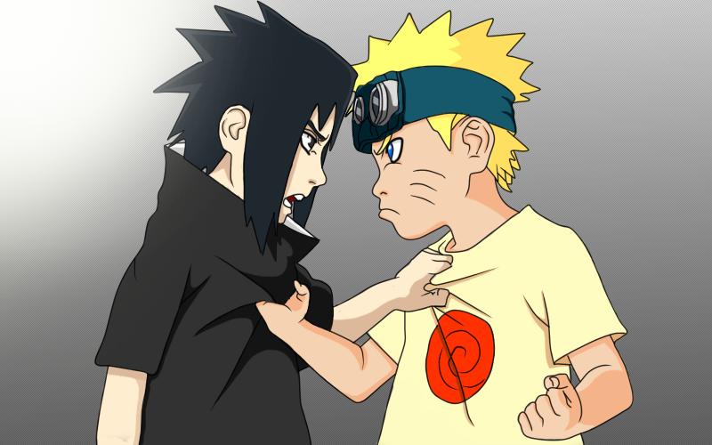 Sasuke Lineart : Young sasuke and naruto lineart by ohreary on deviantart