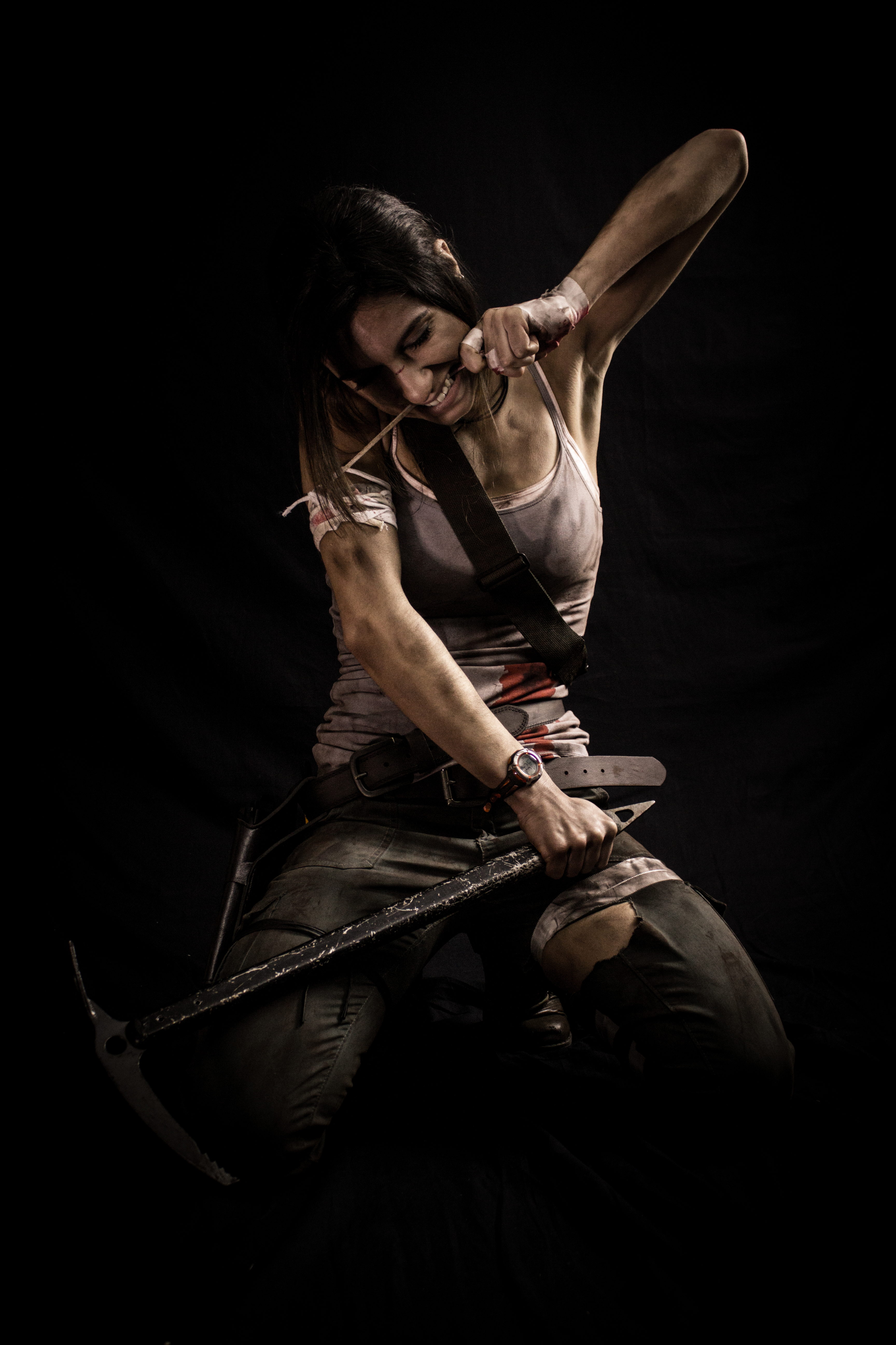 Tomb Raider Contest: Real Life Lara Croft Part. 5 by trentjones
