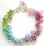 Colorful Lampwork Bracelet
