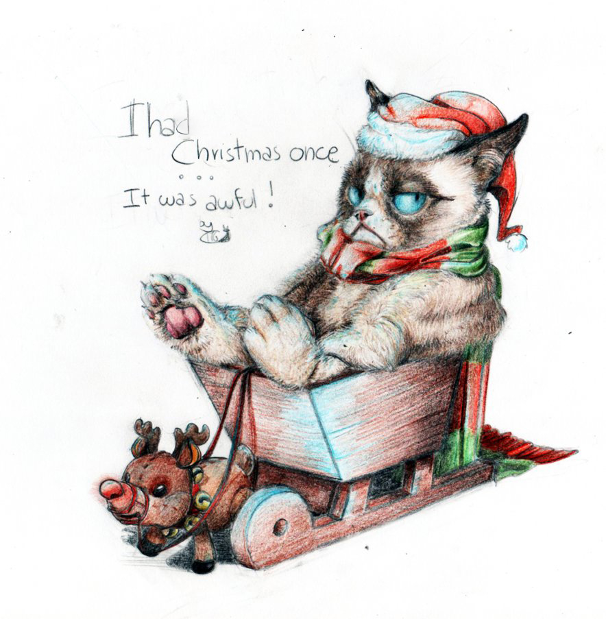 Grumpy Christmas by GiMoody