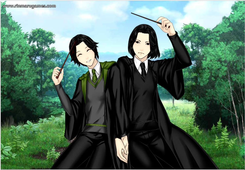 Anime Severus Snape