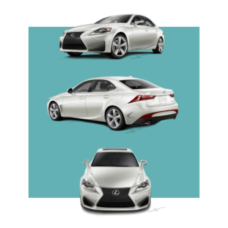 Lexus IS design contest-Manolo Hdz by shamanz