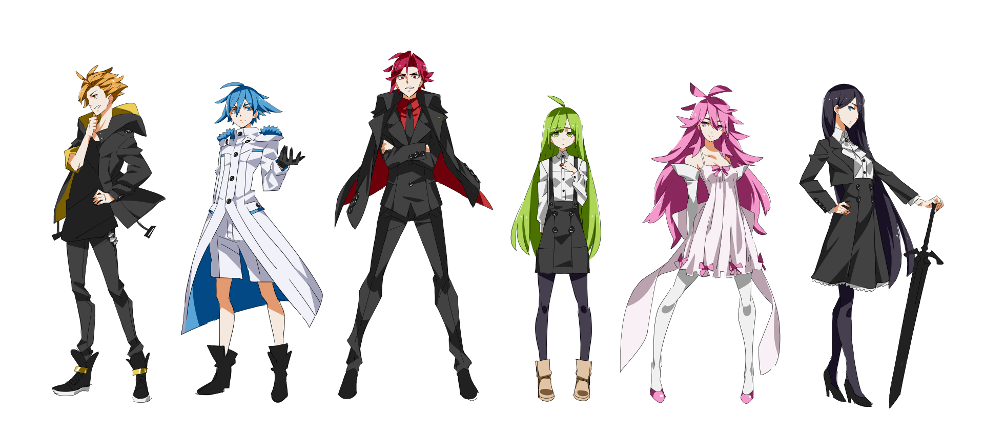 Character Design Artist Resource : Mage project character designs wip by jakuu on deviantart