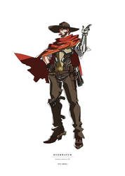 overwatch | mcree by Jakuu