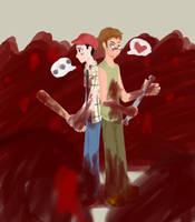 GLENN AND DARYL FOR OB by razkavia