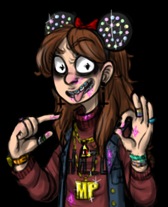 MABEL PINES THE BASED GOD by razkavia