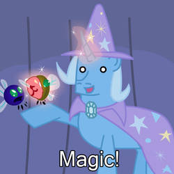 Trixie: Magic Pony by Kadjule