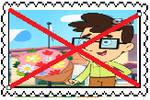 Anti Jared Shapiro Stamp