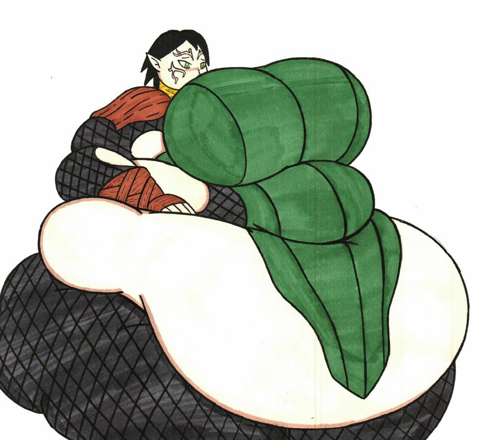 Comm-Fat Merill By Mizz-Britt On DeviantArt