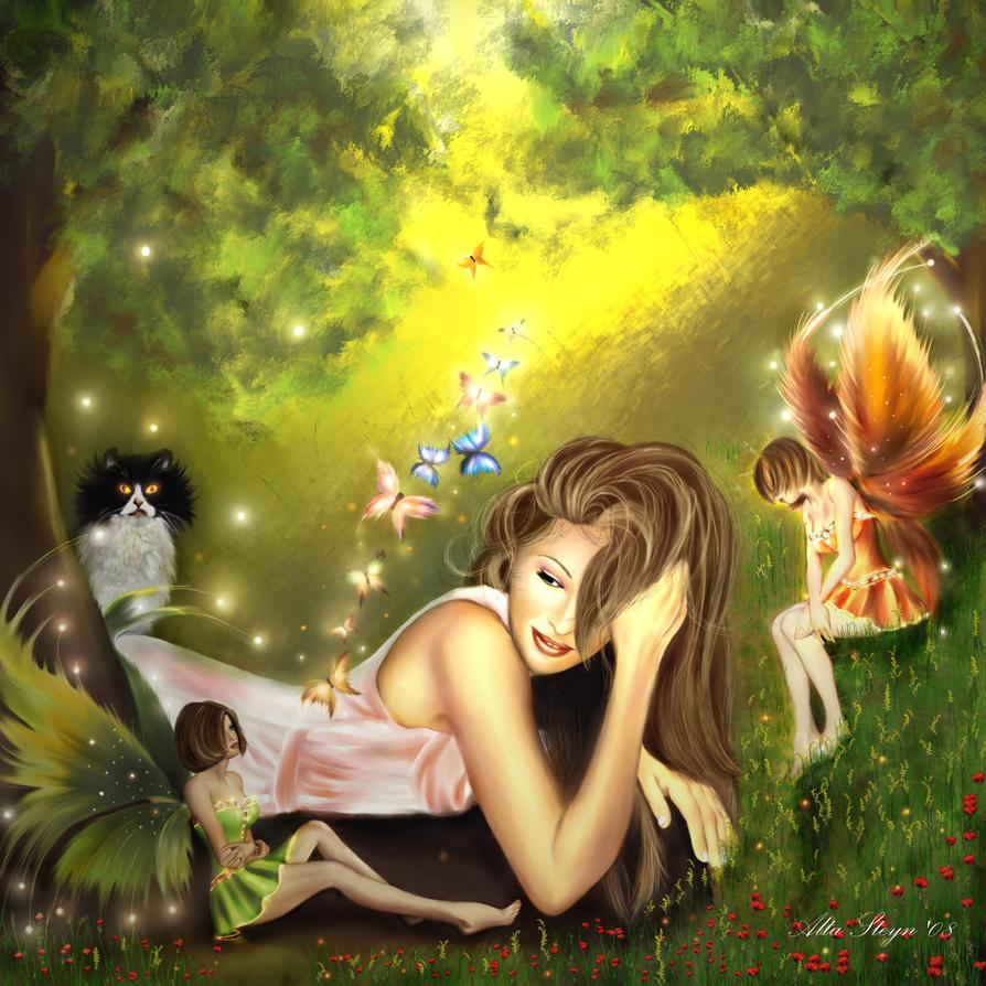 My Secret Garden: My Secret Garden By AlleyCatz On DeviantArt