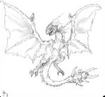 monster hunter fan monster -zerthorm dragon