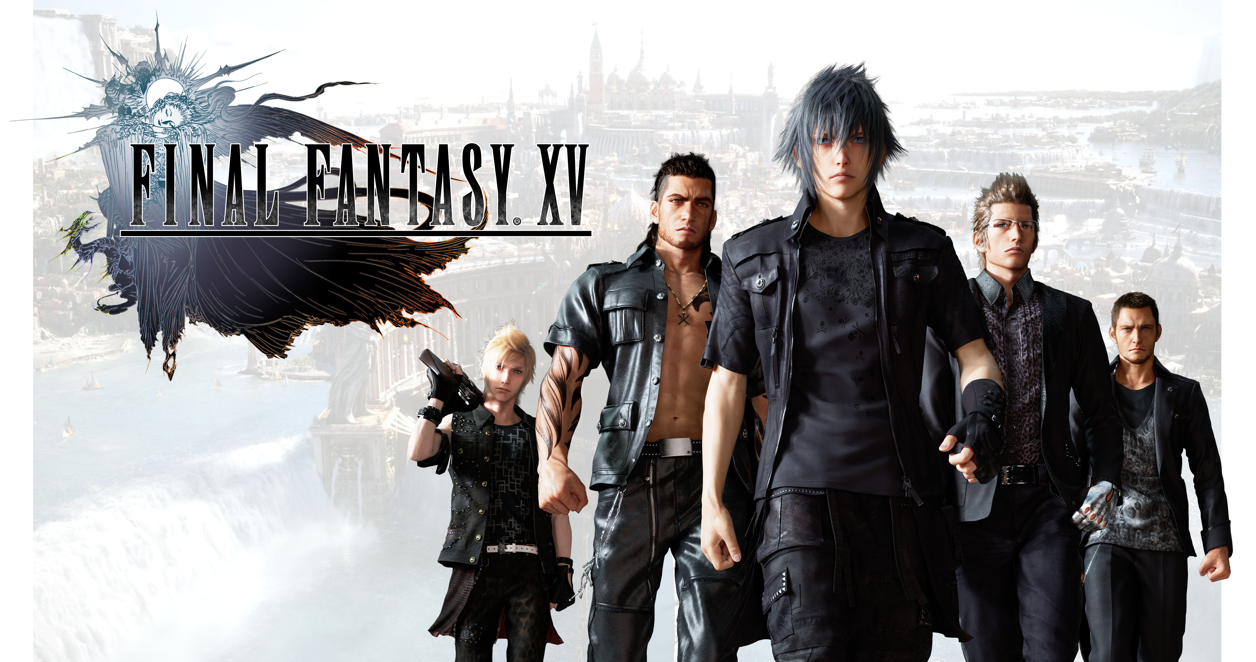 Final Fantasy Xv Wallpaper 4k With New Prompto By Realzeles On Deviantart