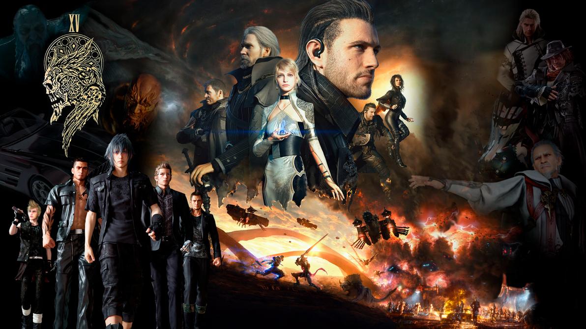 Final Fantasy XV Universe Wallpaper 1080p By REALzeles