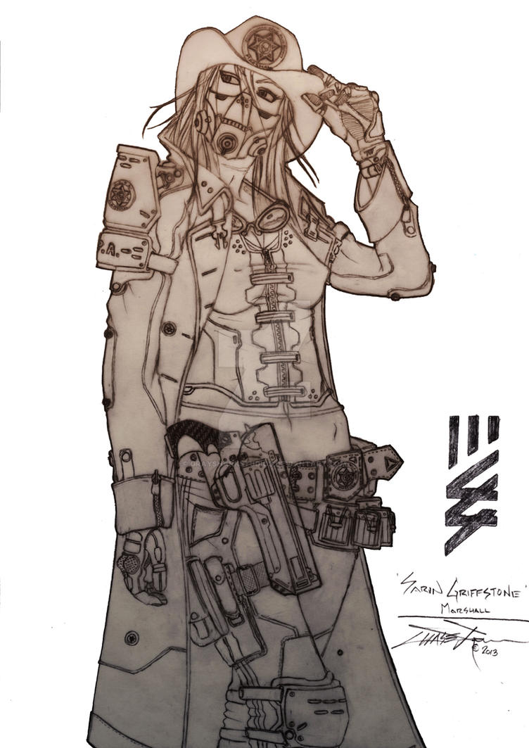 Howdy Pardner - Sarin Griffstone by BlitzJaeger