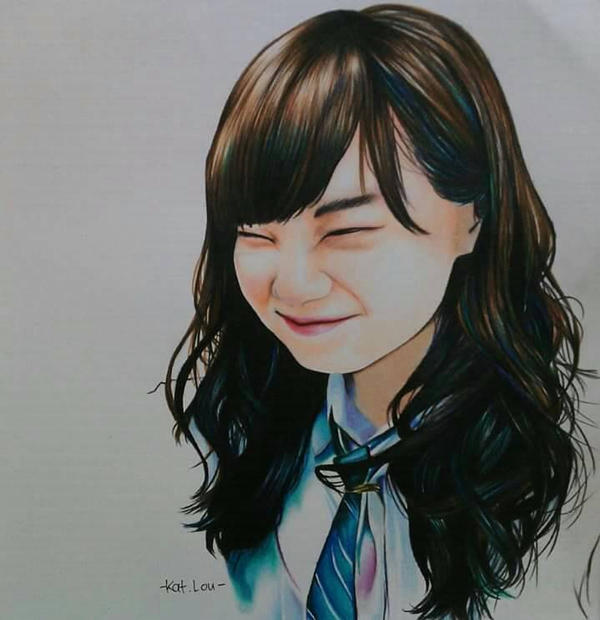 Akimoto Manatsu by katLou46 on DeviantArt