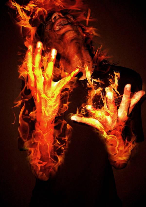 The Human Torch by afiqqq