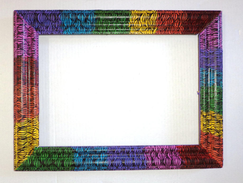 Rainbow picture frame by stray heart on deviantart for Pictureframes net