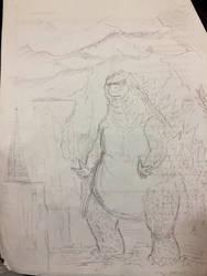 Godzilla - 01 by Vipery-07art