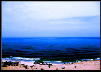 Gaza sea by jawaly