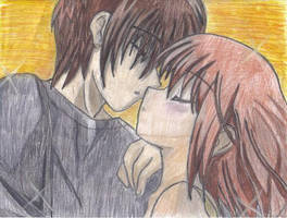 Anime couple by 6wendybird91
