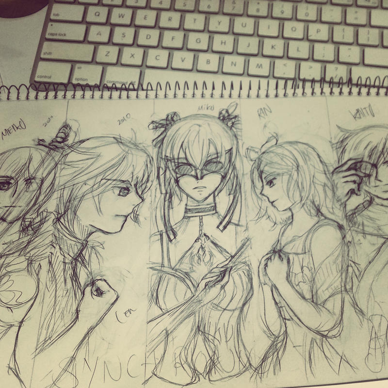 w.i.p: Vocaloid Synchronicity by 6wendybird91