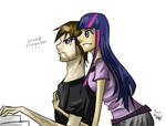Johnny and Twilight by Tao-mell