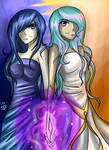 Luna and Celestia have the magics