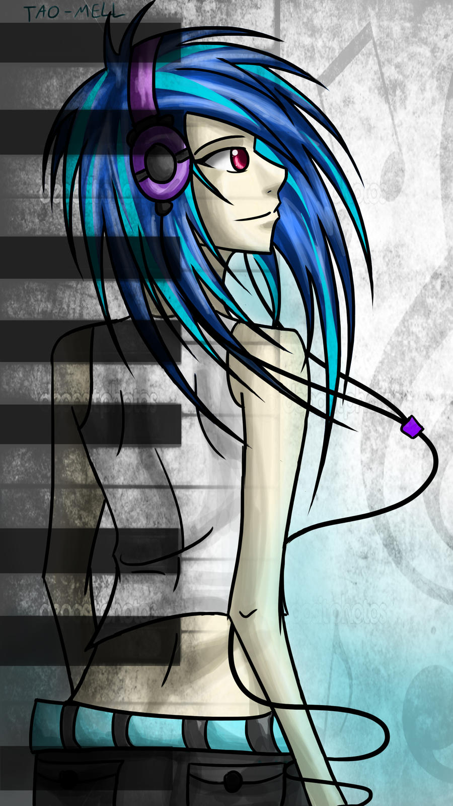 Vinyl Scratch by Tao-mell