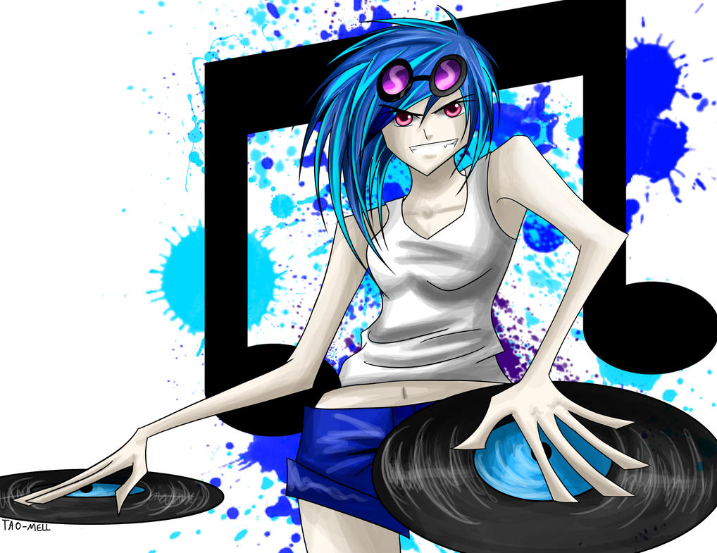 Vinyl Scratchin' by Tao-mell