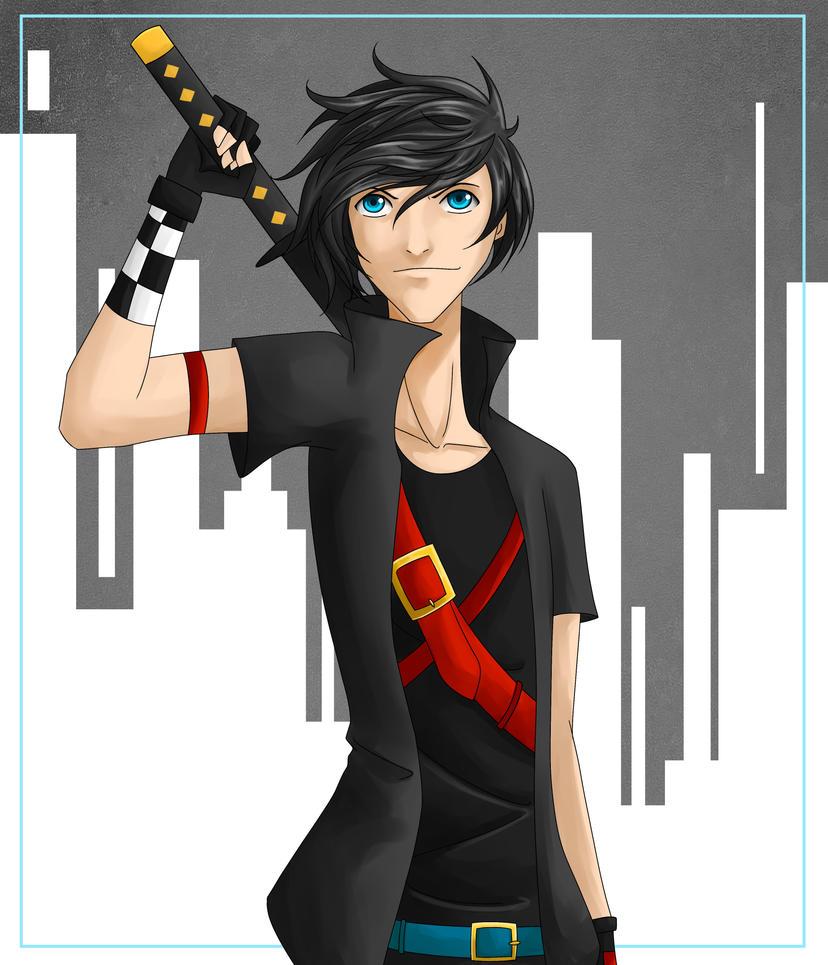 Metal Ninja commission by Tao-mell