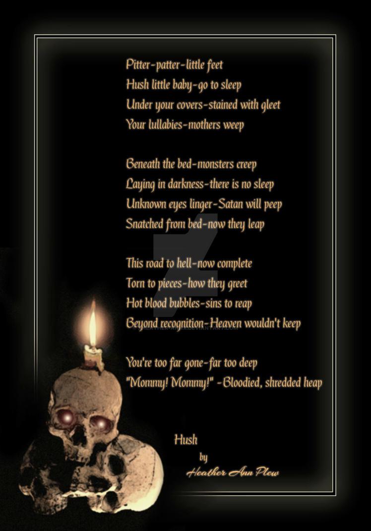Hush by XWykydWytchX