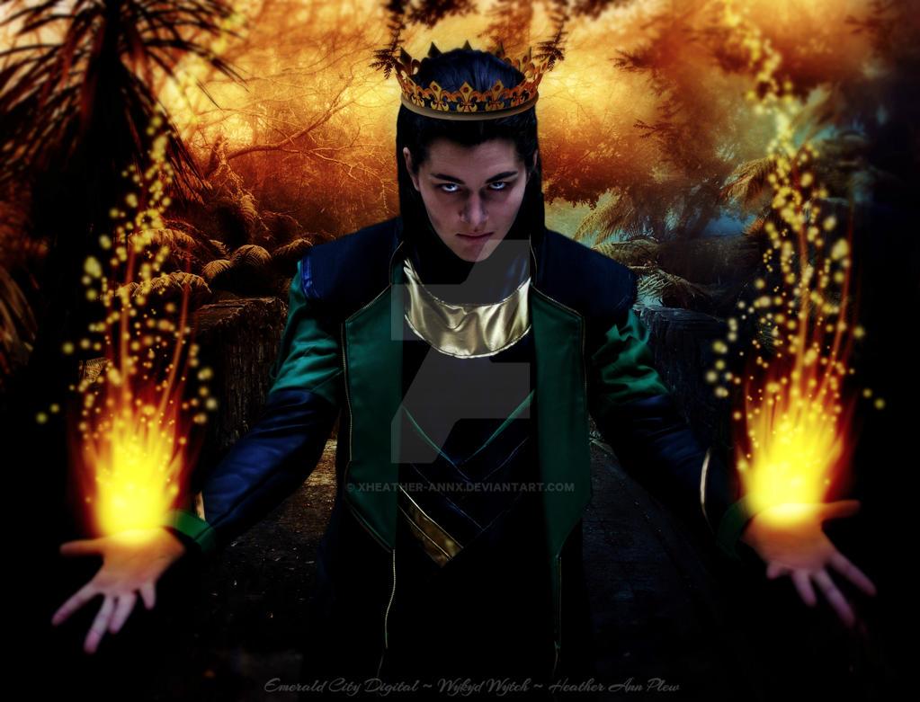 The King by XWykydWytchX