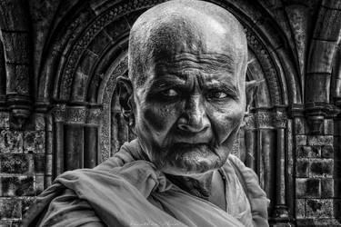 Monk  Portrait by XHeather-AnnX