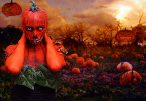 Haunted Pumpkin Patch by XHeather-AnnX