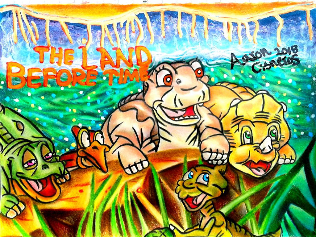 The Land Before Time By Toonaddict2017 On Deviantart