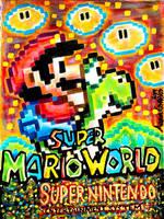 Super Mario World  by toonaddict2017