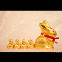 Easter Chocolate Bunnies by Renez